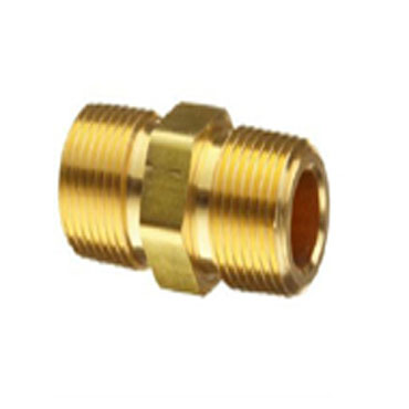Brass Two Way Ext. Nipple